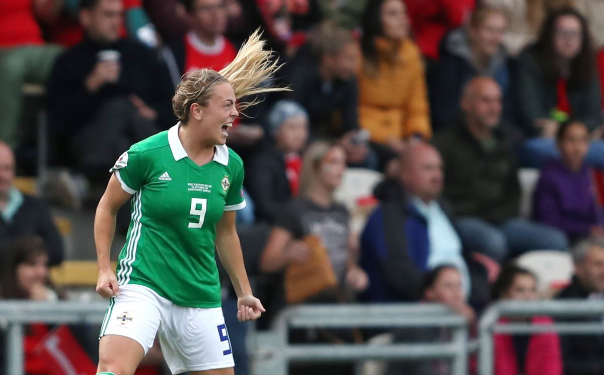 Northern Ireland's Simone Magill