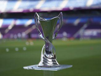 Women's Champions League trophy