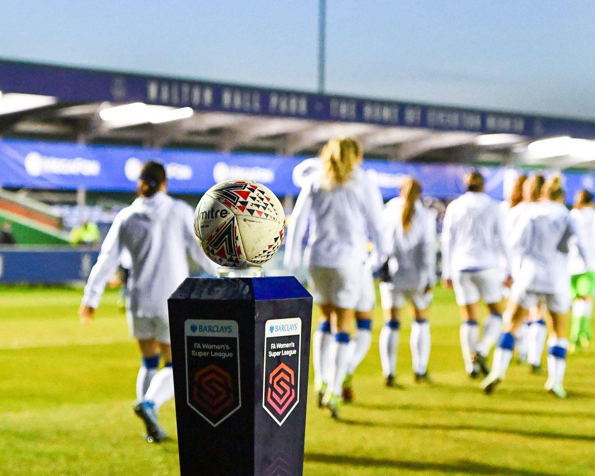 Barclays FA WSL branding
