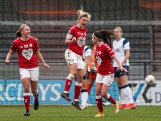 Gemma Davies equalised for Bristol City