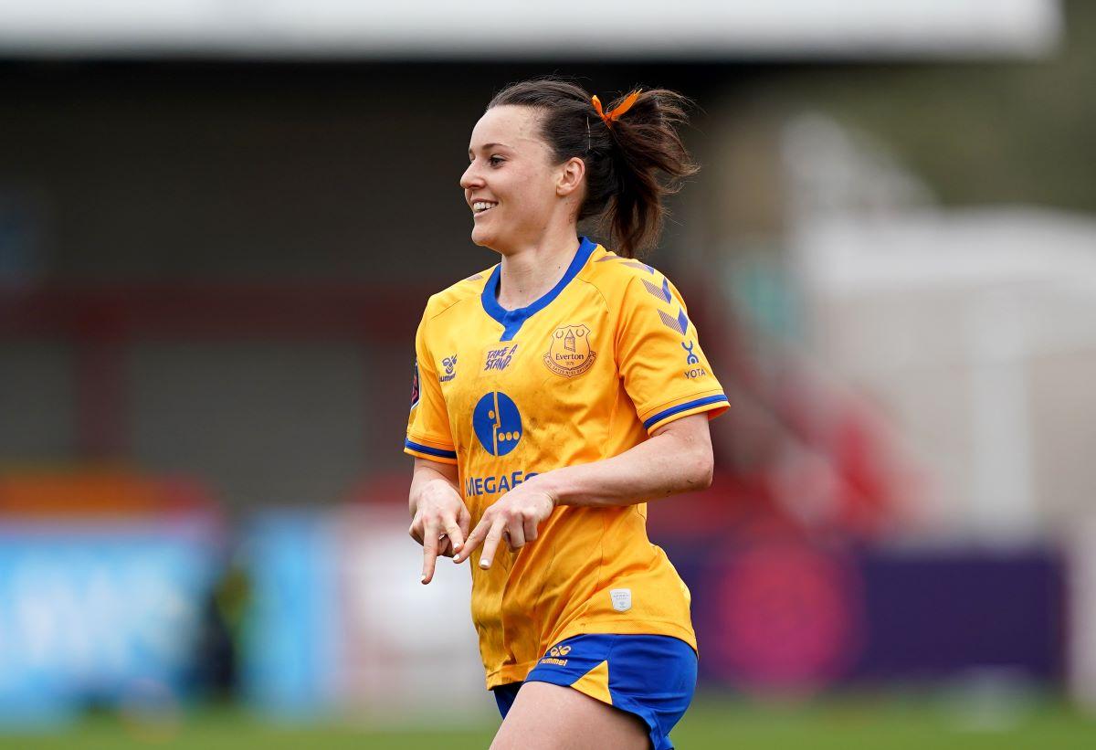 Everton scorer, Hayley Raso