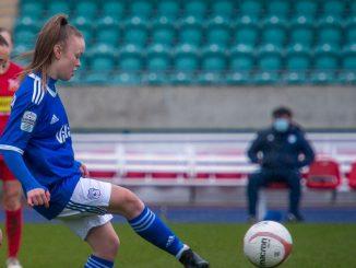 Cardiff City FC's Jasmine SImpson