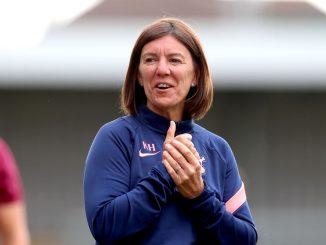 Charlton's new head coach, Karen Hills