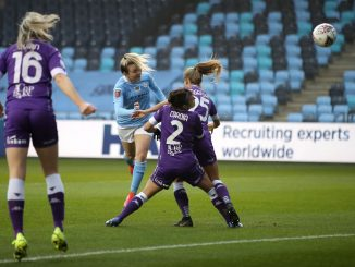 Man City's opening scorer, Lauren Hemp