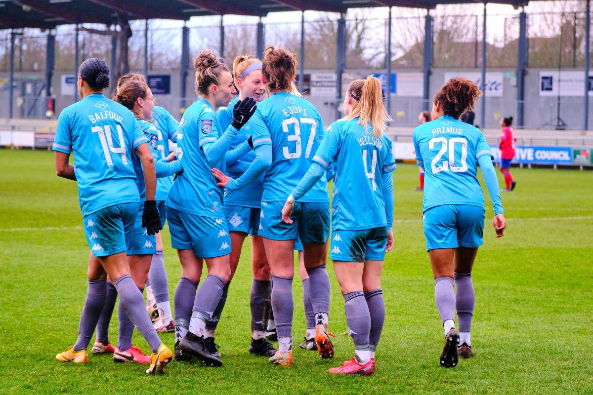 London City Lionesses players