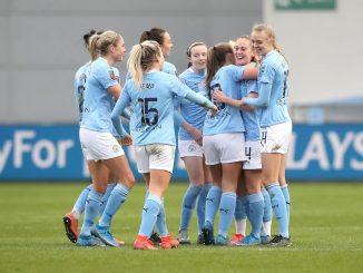 Man City's Keira Walsh after scoring