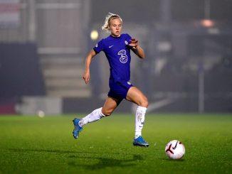Chelsea scorer, Pernille Harder