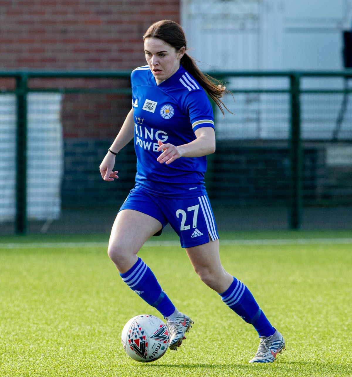 Leicester City's two-goal Shannon O'Brien