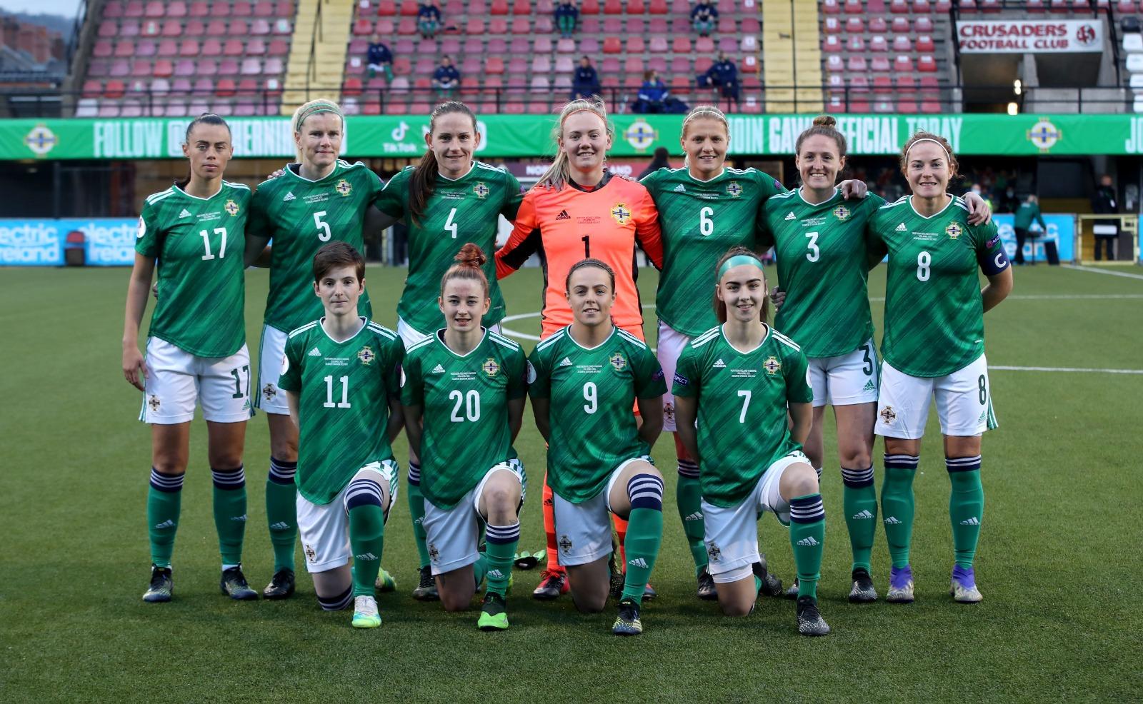 Northern ireland starting XI
