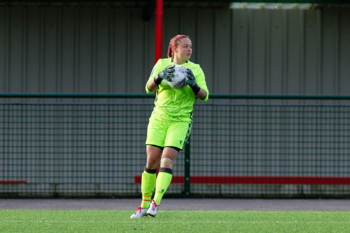 Nottingham Forest goalkeeper, Aja Aguirre