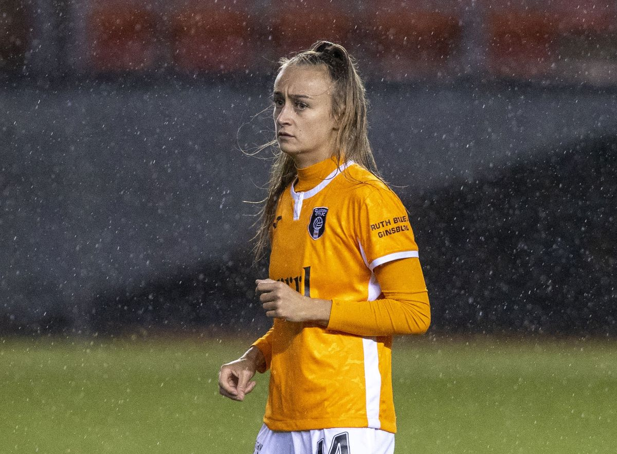 Glasgow City's two-goal Lauren Davidson