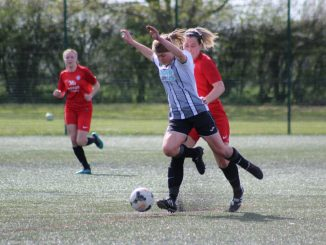 St Ives Town's Ruth Fox scored the last minute equaliser.