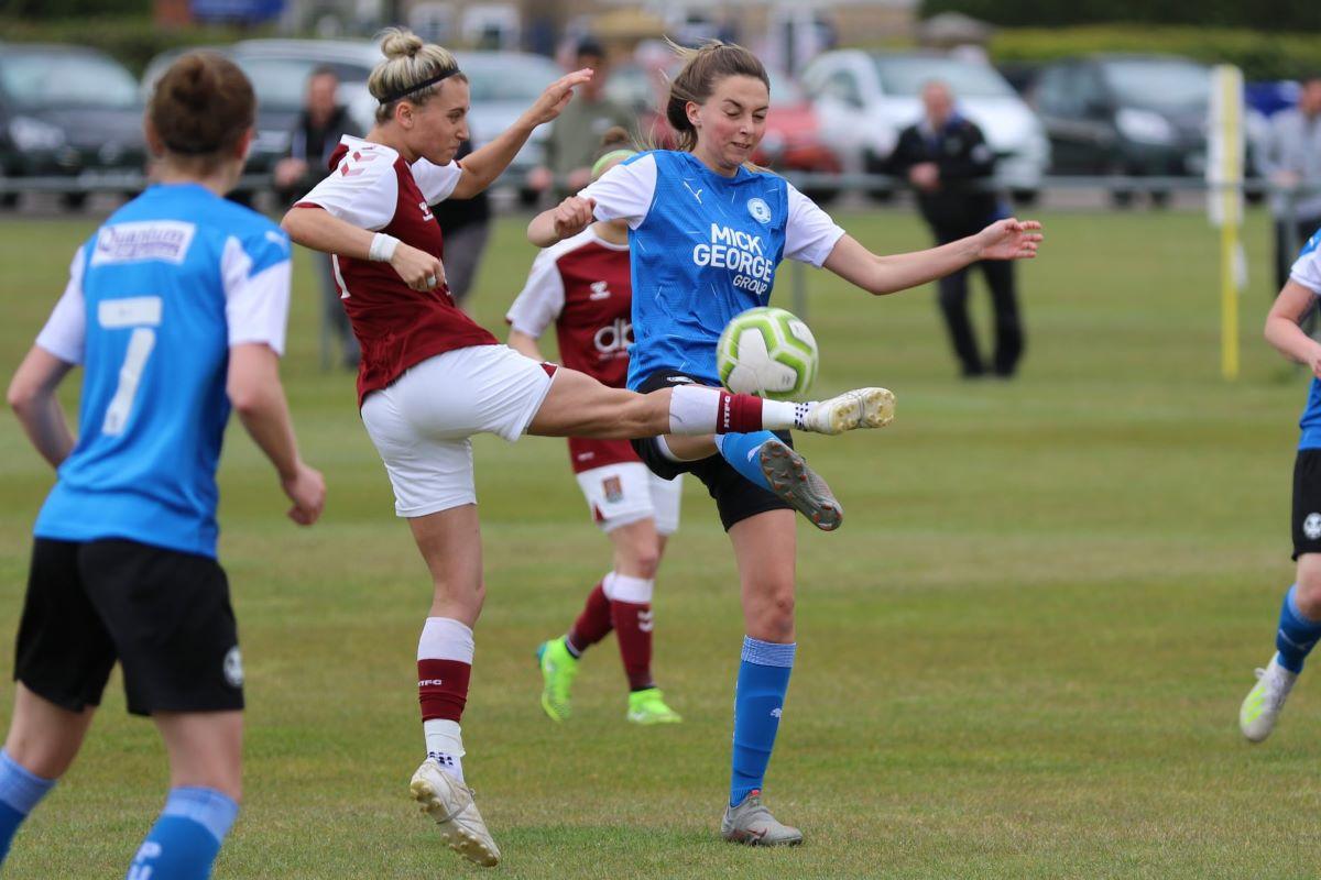 Northampton Town overcame Peterborough United