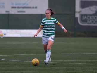 Celtic scorer Caitlin Hayes