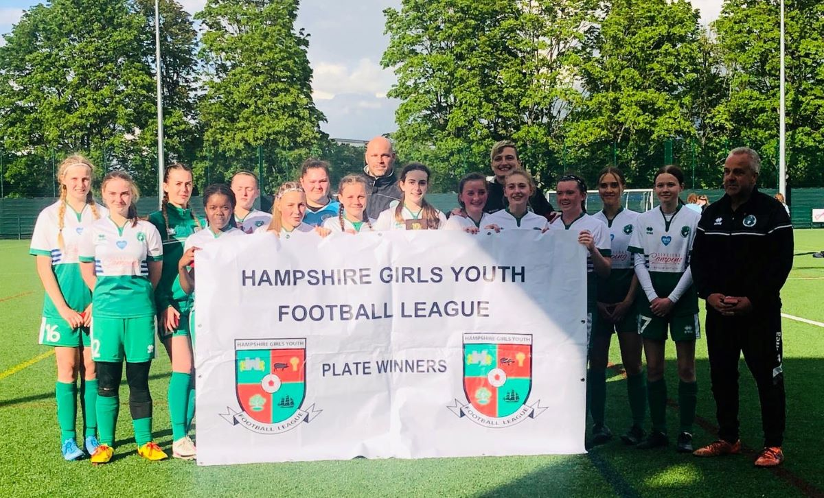 Chichester & Selsey U-16s won Hampshire League Plate