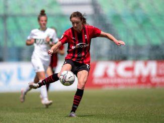 AC Milan's Christy Grimshaw