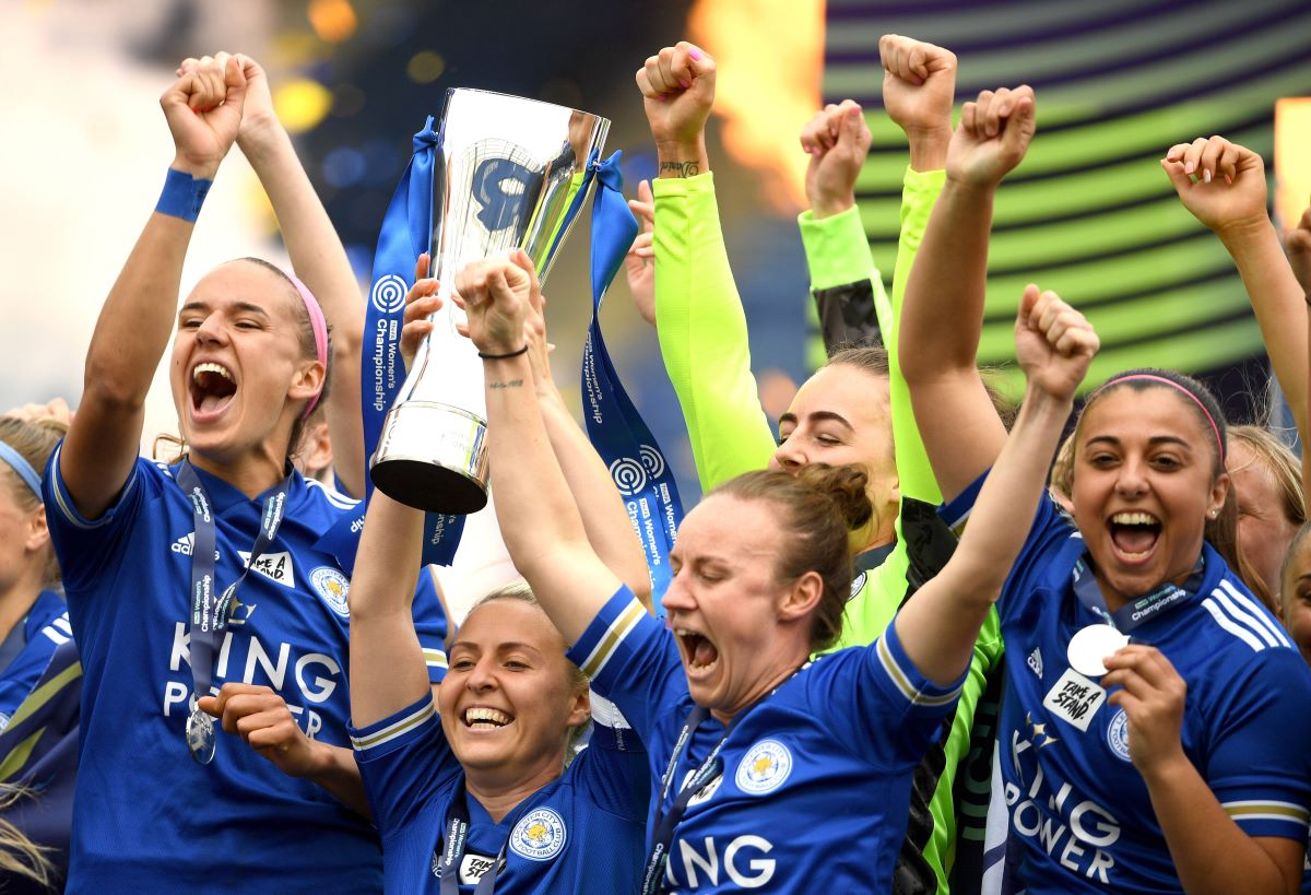 Leicester City lift FAWC trophy