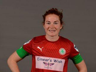 Cliftonville's two-goal Marissa Callaghanmatchwinner, Marissa Callaghan