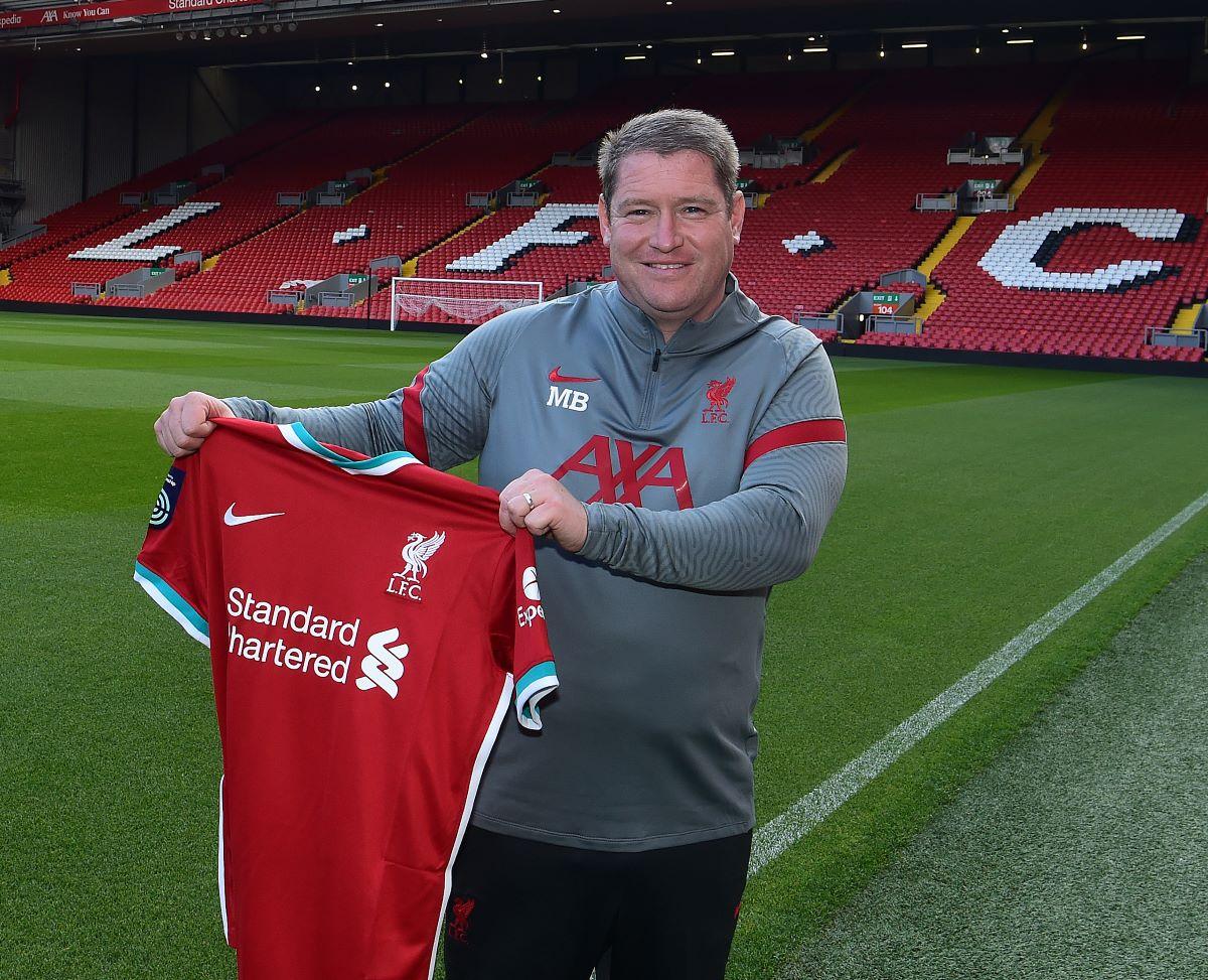 New Liverpool manager, Matt Beard