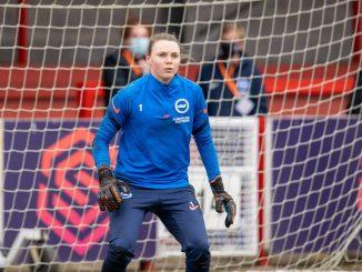 Brighton keeper, Megan Walsh
