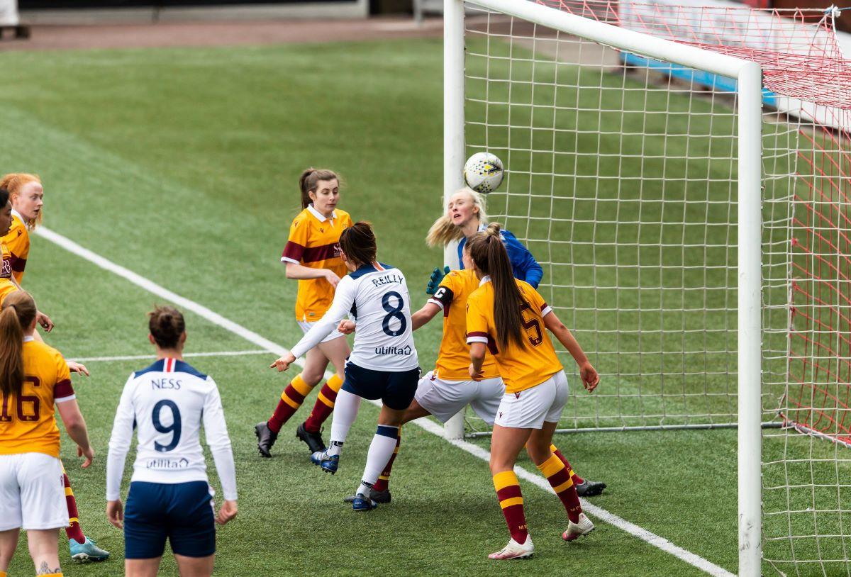 Rangers' Kirsten Reilly scores