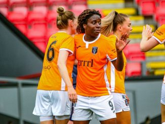 Ode Fulutudilu scored again for Glasgow City FC