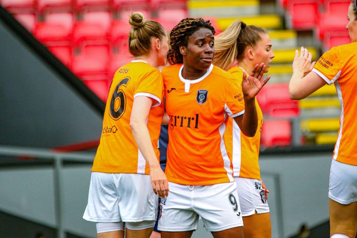 Ode Fulutudilu scored again for Glasgow City FC