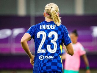 Pernille Harder again made the UWCL all-star squad