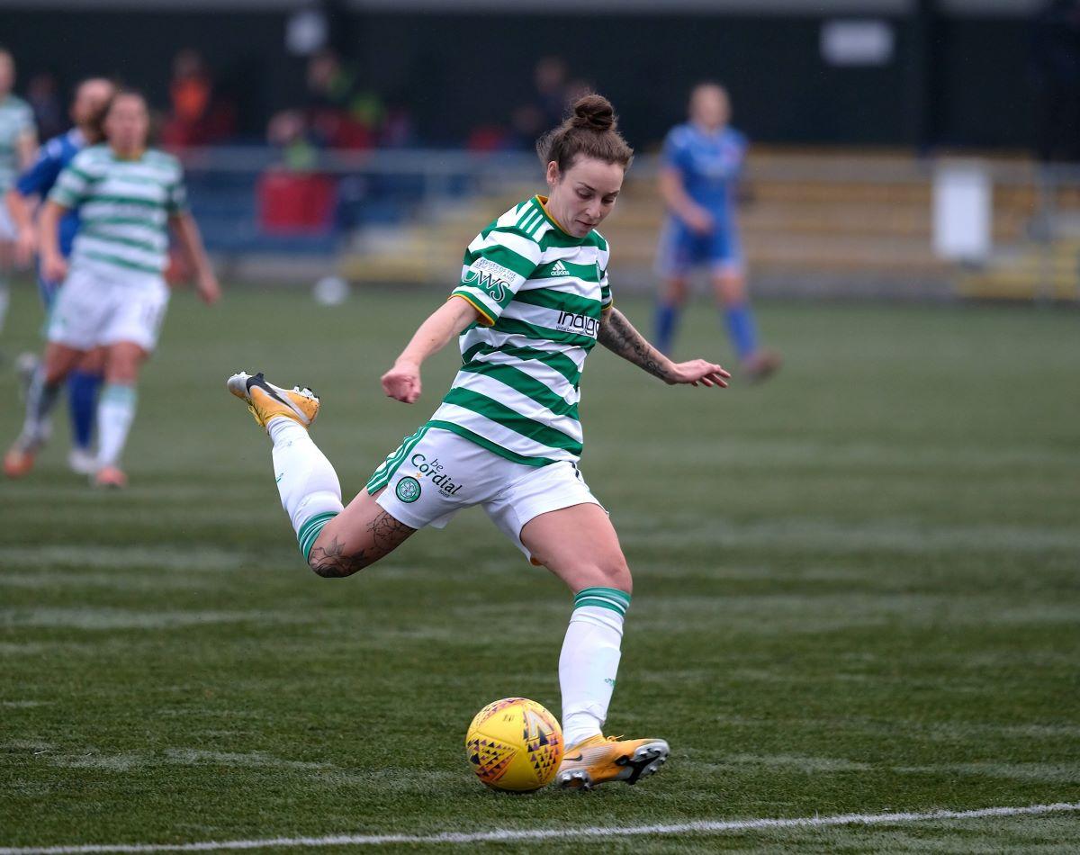Celtic's three-goal Sarah Ewens