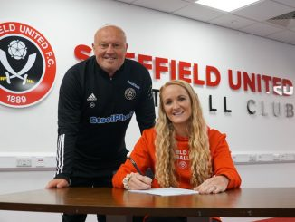 Sheffield United's new signing, Sophie Bradley-Auckland.