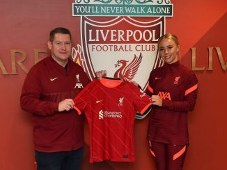 Liverpool's Ashley Hodson