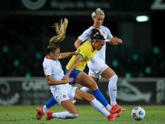 Canada goalless with Brazil