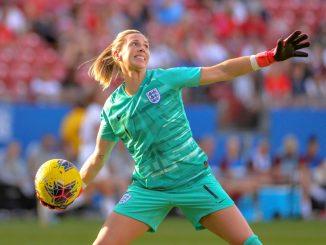 England's Carly Telford