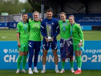 Cheklsea goalkeepers and GK coach