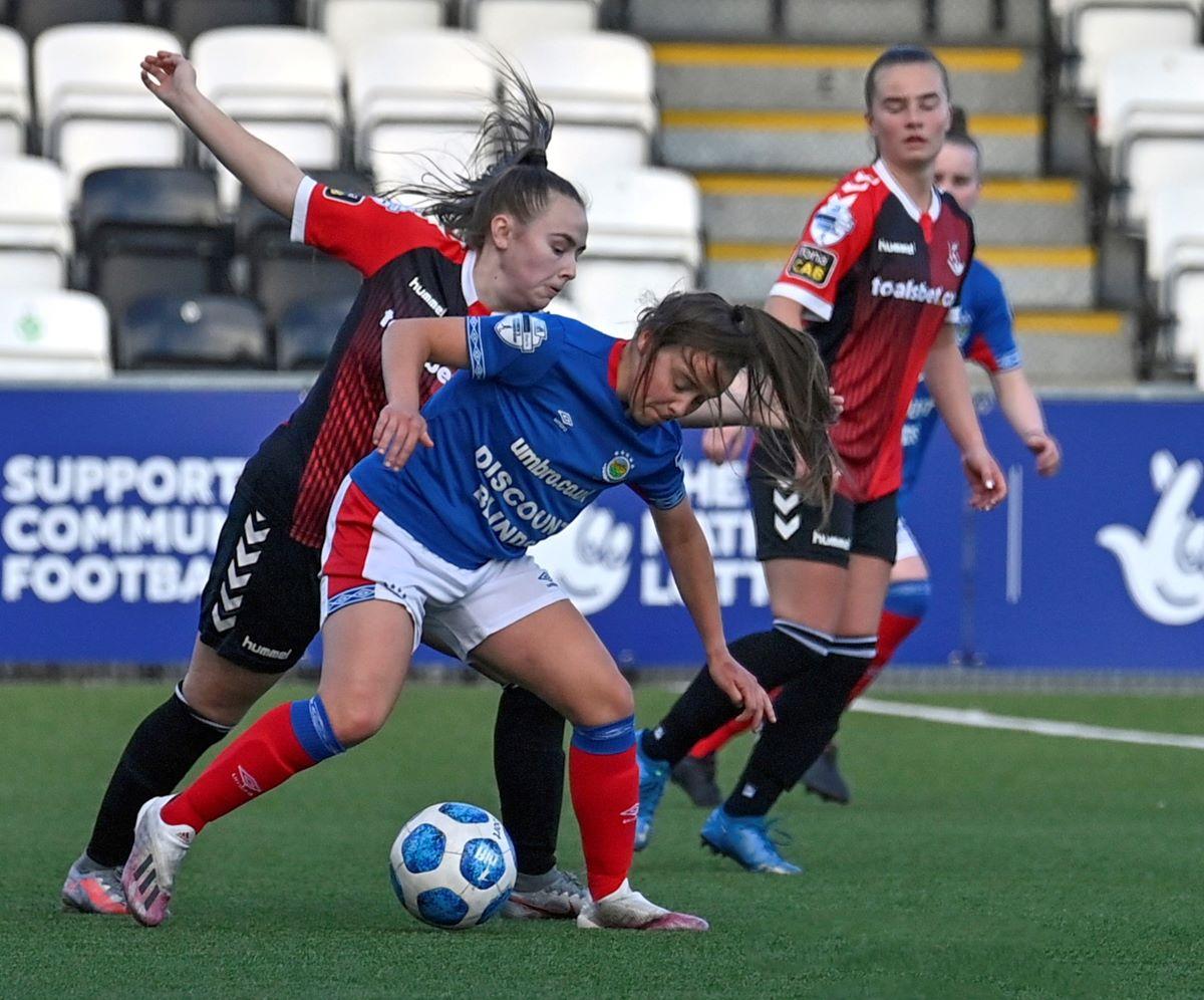 Crusaders Strikers progress in County Antrim Cup