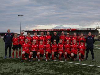 Eastbourne Borough's new women's team