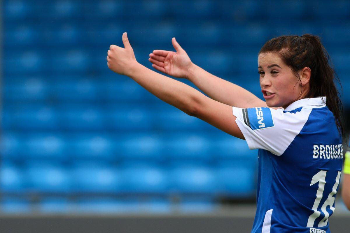 Uno de los jugadores salientes del Everton, Georgia Brougham