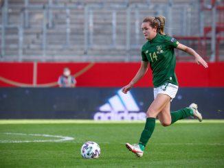 Heather Payne scored for Ireland