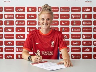 Jasmine Matthews signs for Liverpool