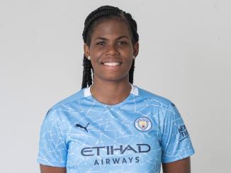 Man City' new signing, Khadija Shaw