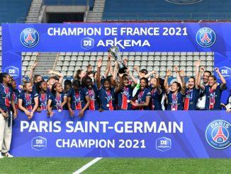 PSG Feminines win D1 Arkema