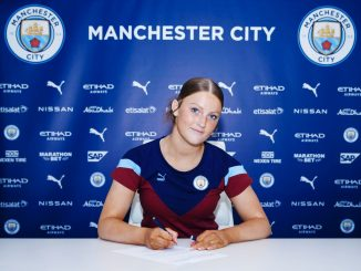Man City's new signing, Ruby Mace