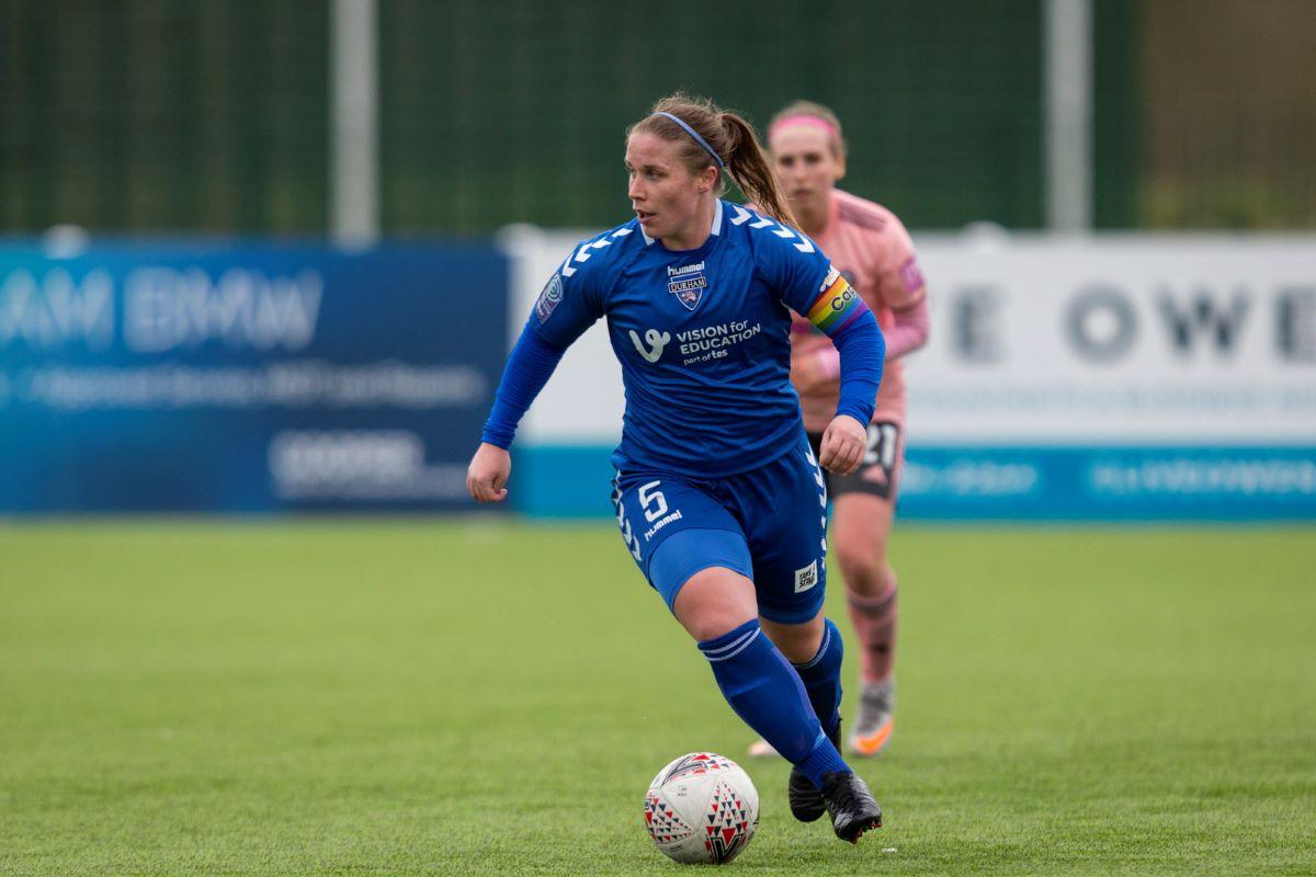 Durham captain, Sarah Wilson, signs new deal