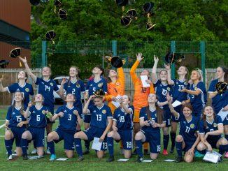Scottish Schools U15 Girls beat England