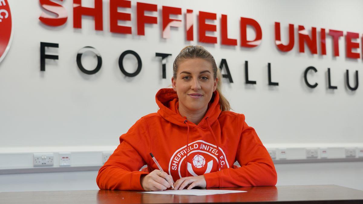 Sophie Waltons de Sheffield United