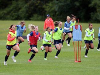 Team GB training session