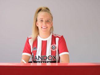 Sheffield Utd's new signing, Charlotte Newsham