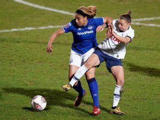 Everton's Gabby George