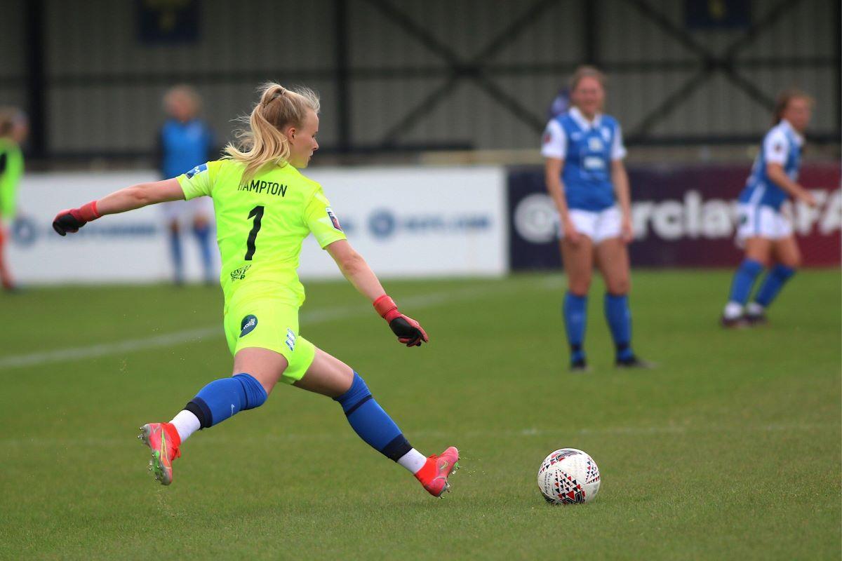 Hannah Hampton has joined Aston Villa