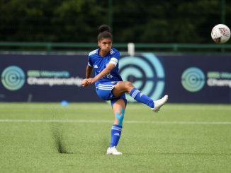 Leicester City's Holly Morgan